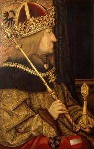 Portrait of Emperor Friedrich III
