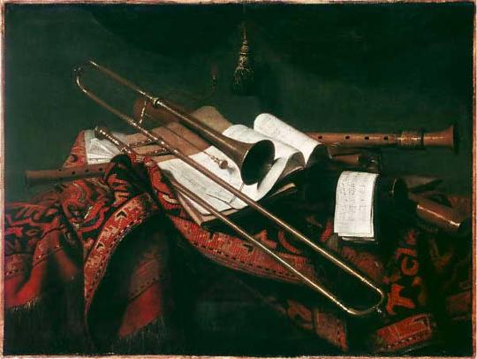 baroque trumpet painting - photo #10