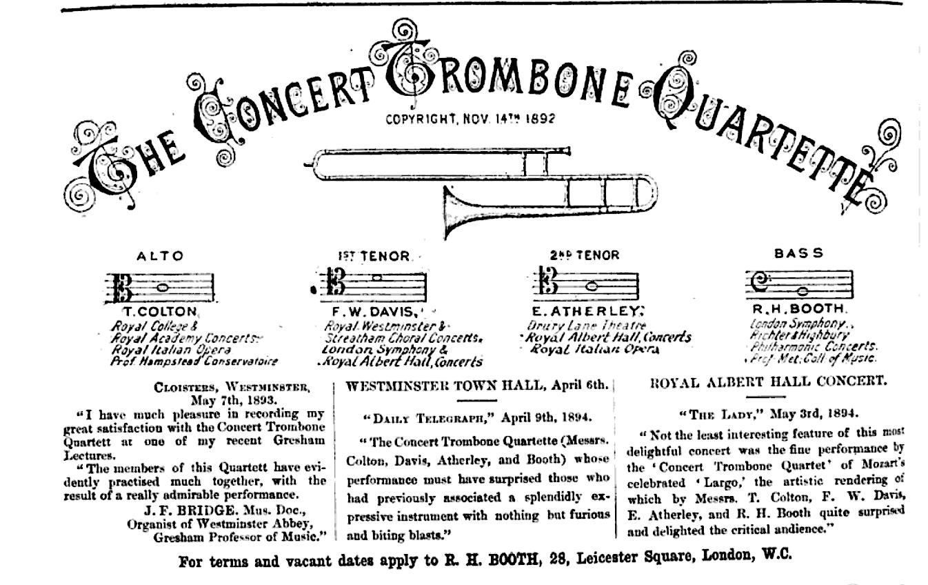 trombone quartette