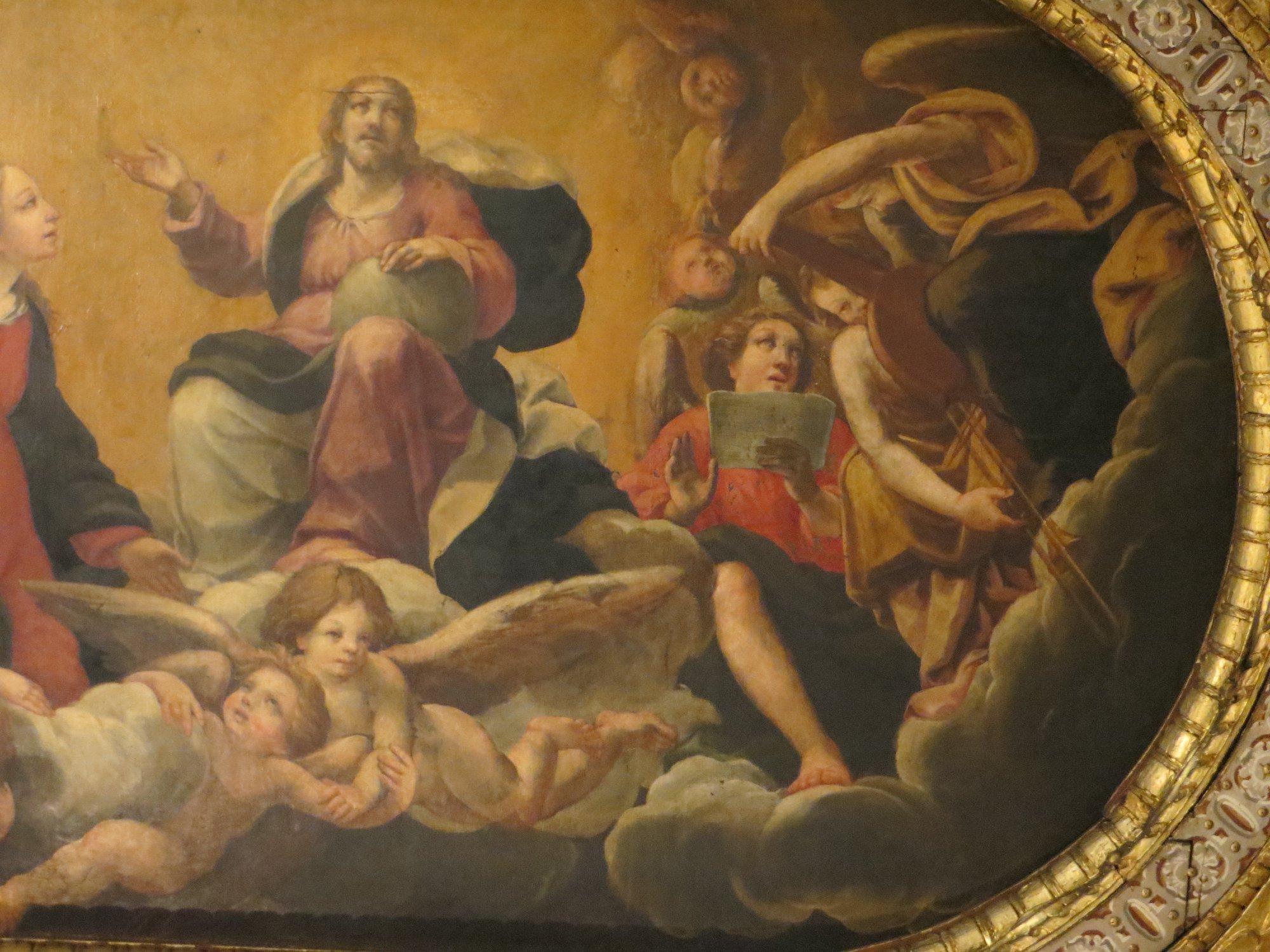 santa maria oratory detail