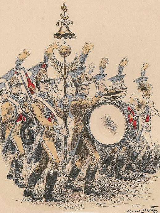 maurice orange musique d infanterie 1806