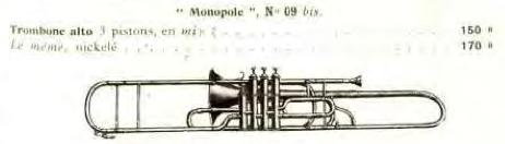 couesnon 1912 valve alto