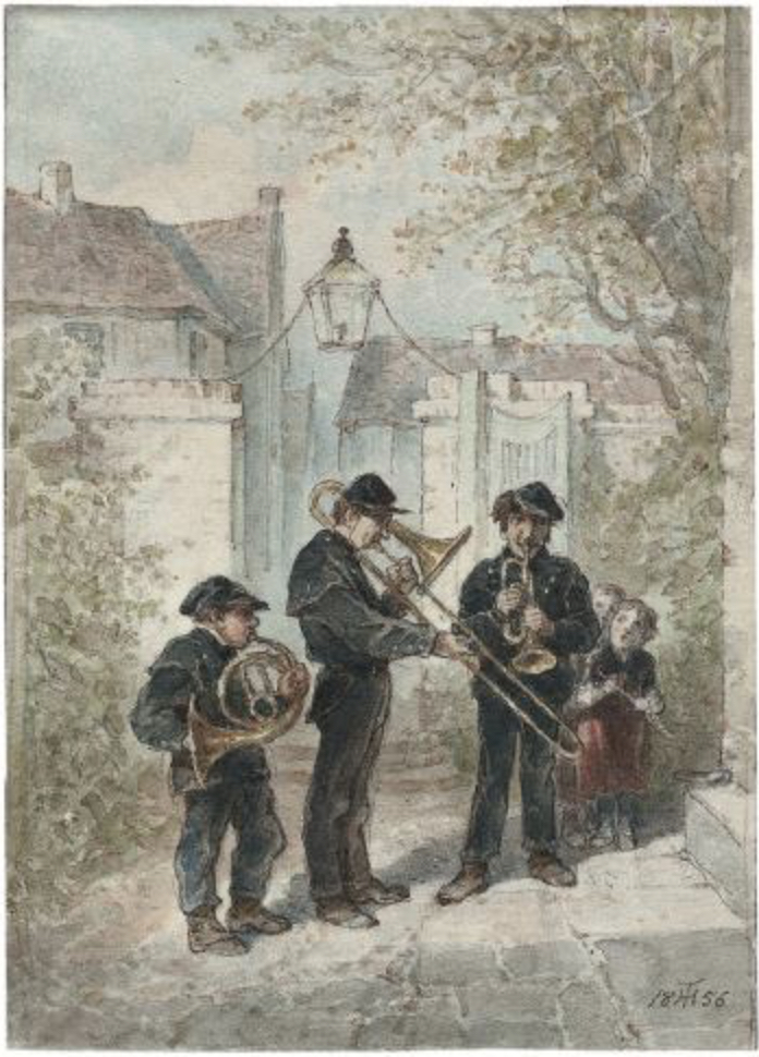 hosemann kleine blaskapelle 1856